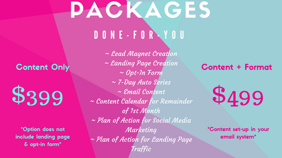 Email package Apr 2018