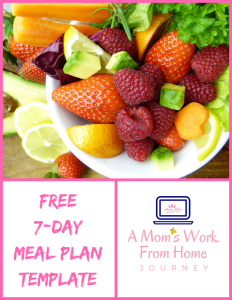 7-Day Meal Plan Cover Image PNG
